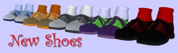 nieuwe schoenen scamp