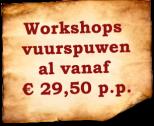 vuurspuwen workshop