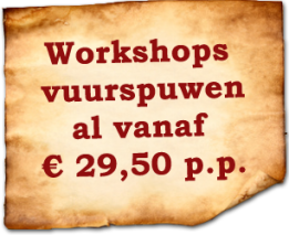 vuurspuwen workshop