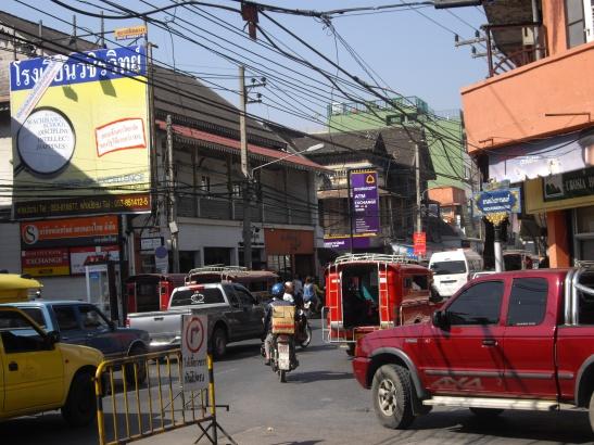 Chiang Mai kruispunt