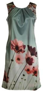 jurk met klaprozen