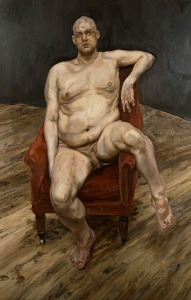 Leigh Bowery (1990), Lucian Freud