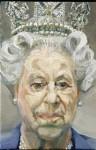 Lucian Freud 2001 - Queen Elisabeth