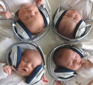 baby-koptelefoon bij piekervrij