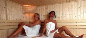 zweten in de sauna