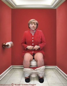 Angela_Merkel op de wc