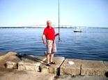 trots, vis gevangen