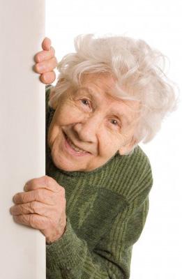 Een kranig oude dame